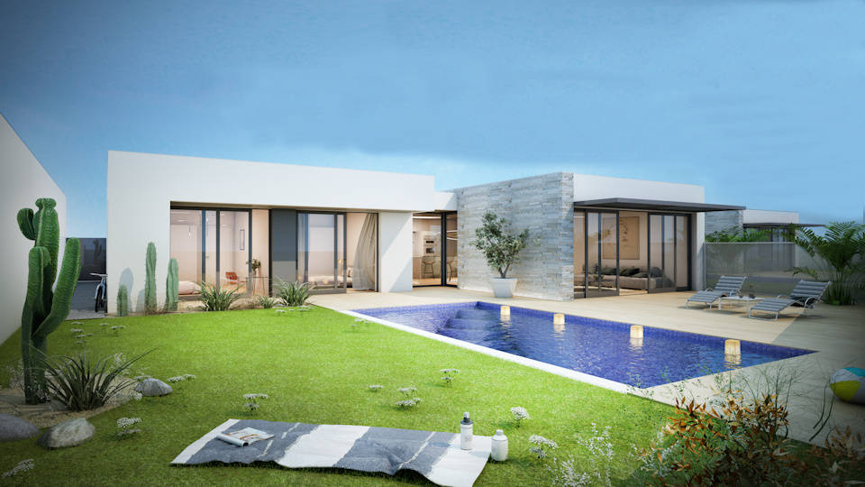 5 Luxury Villas Meco – 375.000€